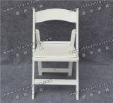 2017 weiße Hochzeits-Plastikfalz-Stühle Yc-As63