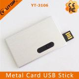 주문 선전용 금속 신용 카드 USB 섬광 드라이브 (YT-3101-03)