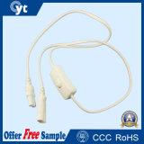Câble électrique imperméable à l'eau de contrôleur de prise d'alimentation pour la lumière