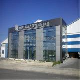 Edificios de oficinas prefabricados del marco de acero del metal