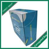 Reciclável Aceite encomendas personalizadas Caixa de embalagem azul