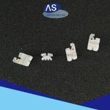 Parentesi di ceramica ortodontiche con le parentesi graffe di ceramica dentali del Ce della FDA