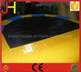 Almofada insuflável D forma trampolim para venda