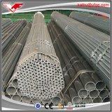 Riga tubo d'acciaio di HDG per gas o acqua dalla fabbrica della Cina con la buona galvanostegia