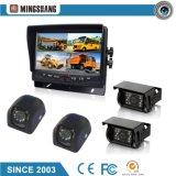 7-дюймовый автомобильной системы безопасности с поддержкой двух мониторов и необязательное ночного видения камеры заднего вида