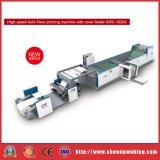 2colors ambo impresora flexográfica del papel de cara con el alimentador de la cubierta