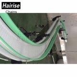 Hairise 90 grados transportador de correa curvado 180 grados