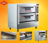 Horno eléctrico de la panadería del equipo de la cubierta comercial del doble para la venta