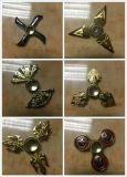 La girata delle armi del gioco dardeggia il drago rotativo di Naruto Shuriken Naruto del Tri-Filatore della mano dei giocattoli del filatore di irrequietezzi