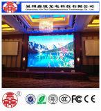 Visualización video del alto de la definición panel a todo color de interior de la venta al por mayor P7.62 LED