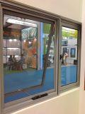 Marco de aluminio de la ventana del marco de la ventana de cristal del estilo de Australia/de la ventana del toldo en el polvo cubierto