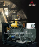 2017 Kanpor de Nieuwste Diesel Genset van het Type van Aanhangwagen van de Generator 160kw van het Ontwerp 200kVA Stille Gemakkelijke Bewogen die door Deutz wordt aangedreven