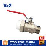 Válvula de bola PPR de acero inoxidable CF8m (VG-A76031)