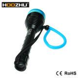 Hoozhu D11는 100m 최대 1000lumens LED 잠수 램프를 방수 처리한다
