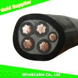 XLPE a isolé le câblage cuivre du câble d'alimentation engainé par PVC 0.6/1kv blindé