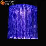 2017 iluminações em mudança Om959 da cortina da fibra das lâmpadas da cor decorativa por atacado