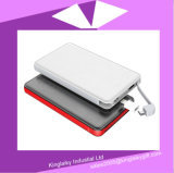 5000mAh schnelle Ladung 2.0 Doppel-USB Portc$li-polymer-plastik Energien-Bank