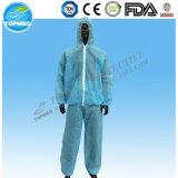 Rivestimenti e pantaloni a gettare non tessuti per le tute protettive uniformi