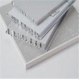Panneaux ignifuges en aluminium de mousse acoustique de papier d'aluminium d'âme en nid d'abeilles de revêtement de mur extérieur (HR257)