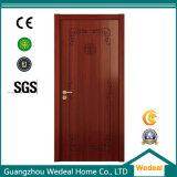 Porta de madeira contínua pintada do MDF HDF com folheado de madeira