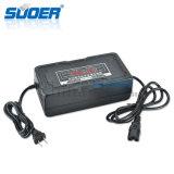 Новый дизайн Suoer зарядное устройство для велосипедов с электроприводом 72V Smart быстрое зарядное устройство зарядное устройство для автомобильной промышленности (сын-7280D)