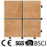 Azulejo de suelo de cerámica de la helada de DIY con la base los 30*30cm del PE