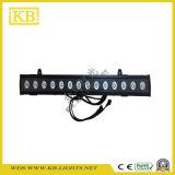 18PCS LED Stab-Wand-Unterlegscheibe mit Matrix-Funktion