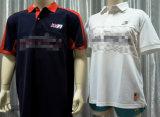 T-shirt 100% de polo de coton de /Ladies des hommes
