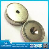 Haut La Force de traction crochet magnétique en néodyme/Shield aimant/pot aimant