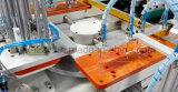 Machine d'impression rotatoire excentrée d'écran en soie de bâti plat en verre de papier à vendre