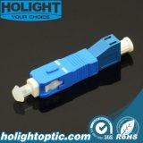 LC aan Adapter van de Vezel van Sc de Optische Hybride