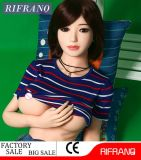 158cmの金属の骨組性の人形のセクシーな緑の瞳のシリコーンの人形