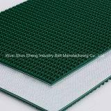 Prix d'usine 5 mm Green PVC Rough Top Grass Conveyor Belts