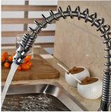 Het creatieve Dek zet de Lente op terugtrekt zich/onderaan de Kranen van de Mixer van de Keuken