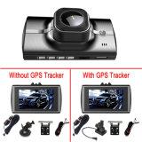 HD cheios Dual o carro DVR da visão noturna da lente de câmera
