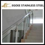 Pasamano de la barandilla del diseño del balcón del acero inoxidable