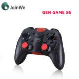 Gen Spel S6 Draadloze Bluetooth Gamepad Bluetooth 3.0 het Controlemechanisme van het Spel van de Bedieningshendel
