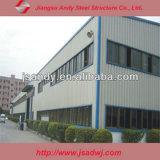 Edificio prefabricado del almacén de la estructura de acero del diseño de la construcción