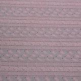 Tissu de dentelle en coton de nouvelle conception 2017