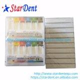 Atarraxamento de papel absorvente 0.02 dos pontos do meta dental cor de 200 pontos codificada) (