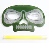 Nuova mascherina di incandescenza di figura del cranio per Halloween