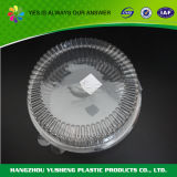 Contenant de nourriture à cylindre jetable en plastique