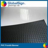 Bandiera nera bianca lucida della flessione del PVC Blockout
