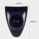 Específico impermeável da câmera do carro da opinião dianteira da visão noturna mini auto para Toyota