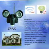 Resistente al agua nueva Cámara PIR luz LED de WiFi / Wireless Video vigilancia ZR720