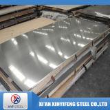 Placa de acero inoxidable laminada en caliente con 304/2b