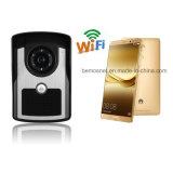 Téléphone de porte vidéo couleur WiFi pour la sécurité de la maison
