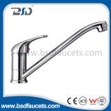 Le support en laiton de paquet de chrome moderne choisissent le robinet de toilettes de traitement (BSD-8301)