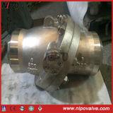 Tipo Confinare-Saldato dell'oscillazione dell'acciaio di getto che inclina la valvola di ritenuta