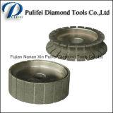 Electroplated колесо профиля края диаманта для каменного края делая машину